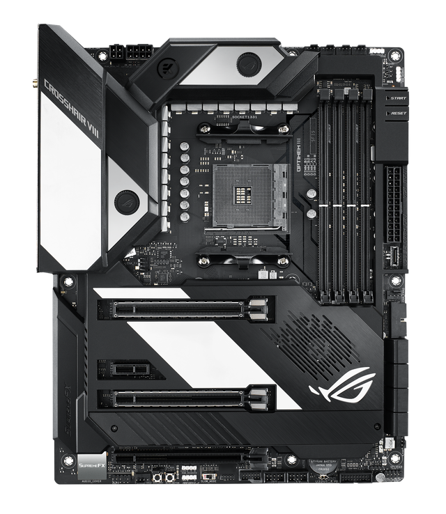 Asus officially launched the AMD X570 series of motherboards that support the powerful Ryzen 3000 series cpu, making Intel rival dead - Photo 1.