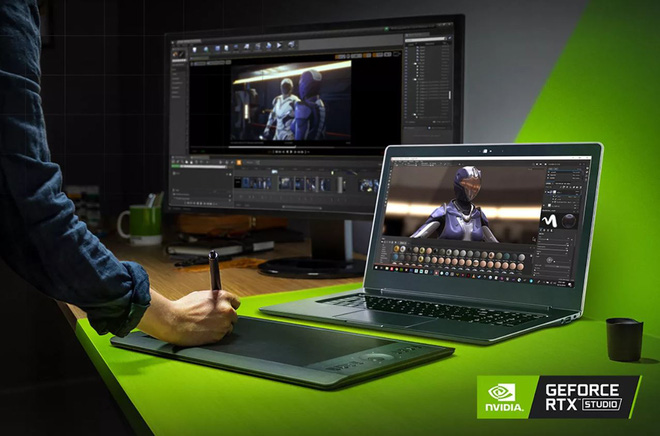 [Computex 2019]  Nvidia announced a new laptop line named Studio to confront the MacBook Pro directly - Photo 1.