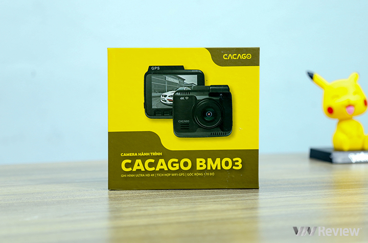 Experience Cacago BM03 journey camera: compact, soft price of 2.39 million VND - VnReview