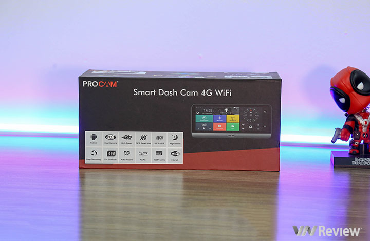 Experience the camera camera 4G Mirror Procam Mcam: too capable, priced at 5.9 million - VnReview