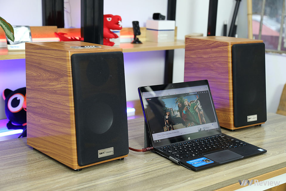 GoldSound GS51 computer speaker rating: New bottle of old wine, now adding Bluetooth - VnReview