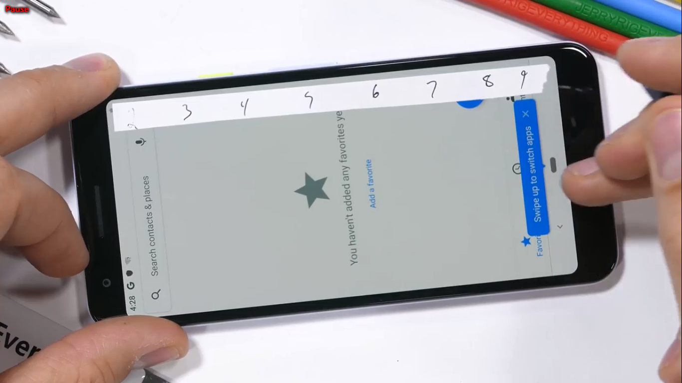 Sforum - Latest technology information page 2019-05-30 Pixel 3 durability test: Plastic is plastic but very sturdy