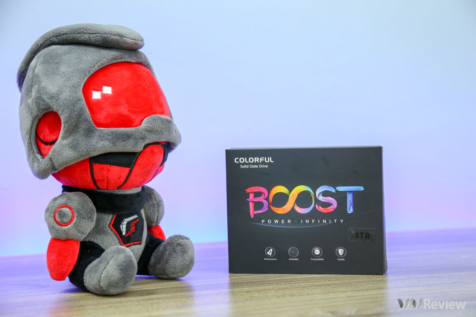 "Quick review Colorful SSD SL500 Boost 1TB: ""Universal"" SSD high capacity for every home - VnReview"