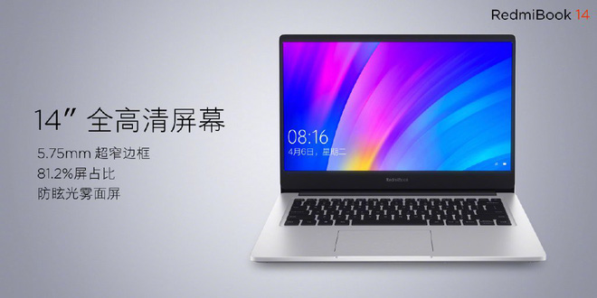 RedmiBook 14 laptop, 14-inch screen, 8th generation Core i7 chip, GeForce MX250 GPU, 10-hour battery, cost from 13.4 million VND - Photo 1.