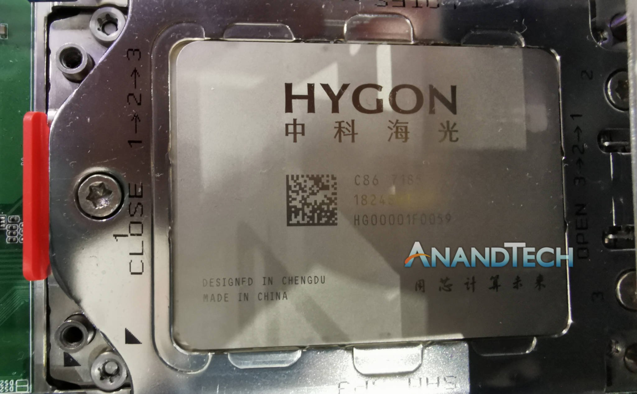 Revealing Hygon - the CPU developed by China based on AMD's Zen architecture