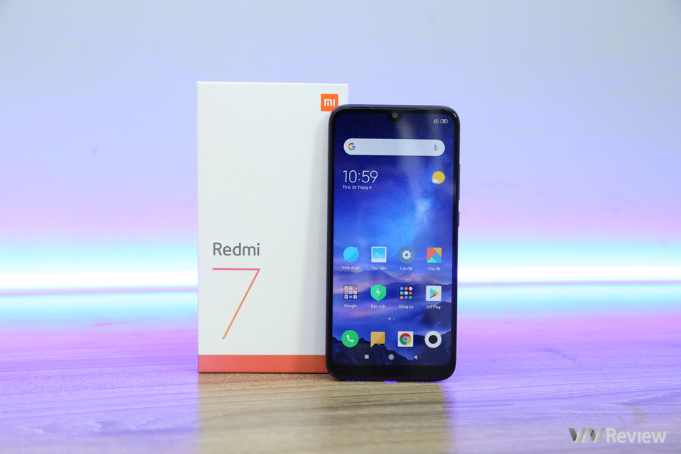 Review Redmi 7: strong upgrade compared to Redmi 6 - VnReview