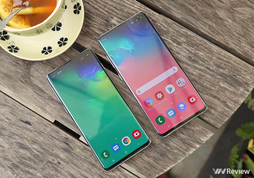 Review Samsung Galaxy S10 + - VnReview