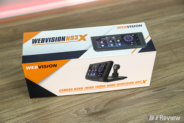 Review Webvision N93X journey camera: good recording quality, running full Android, 4G support - VnReview