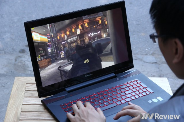 Review laptop specializing in Lenovo Y70 Touch game - VnReview