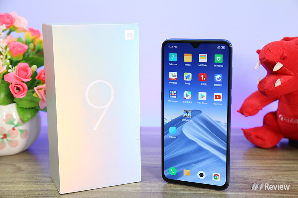"""Three days """"sleep and sleep"""" with Xiaomi Mi 9: Love, don't marry! - VnReview"""