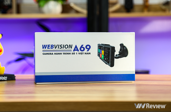 Webvision A69 journey camera review: too many features - VnReview