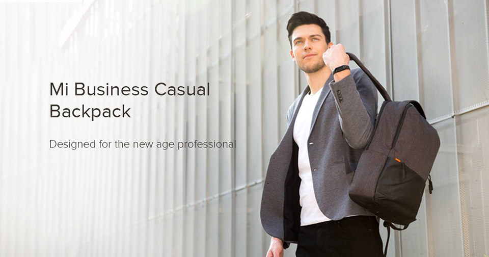 Sforum - The latest information technology site balo-du-lich-Xiaomi-1 Xiaomi launched the new Mi Business Casual Backpack travel backpack, priced at VND 333,000