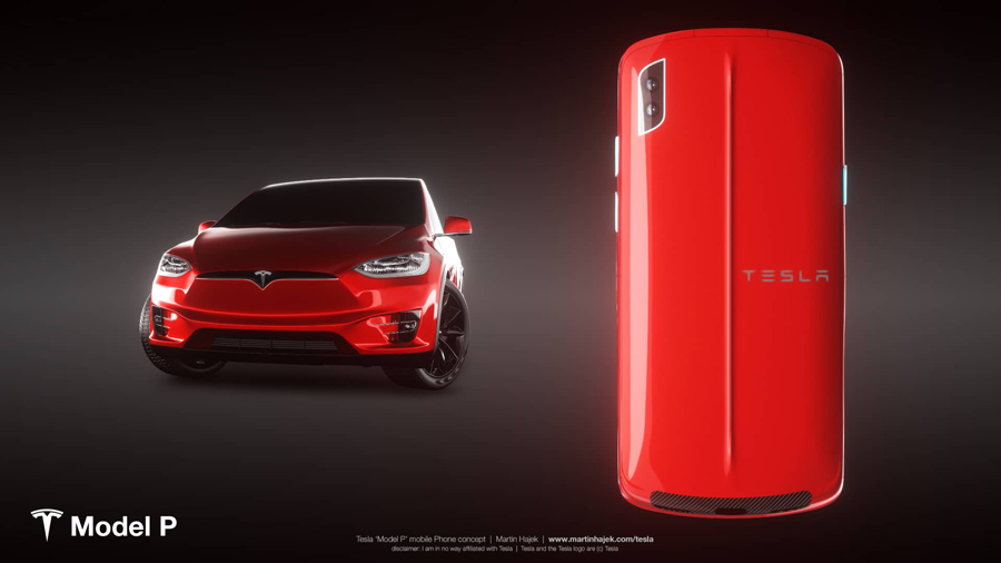 Sforum - Latest technology information page phone_tesla Admire Tesla smartphone concept: Nice to imagine