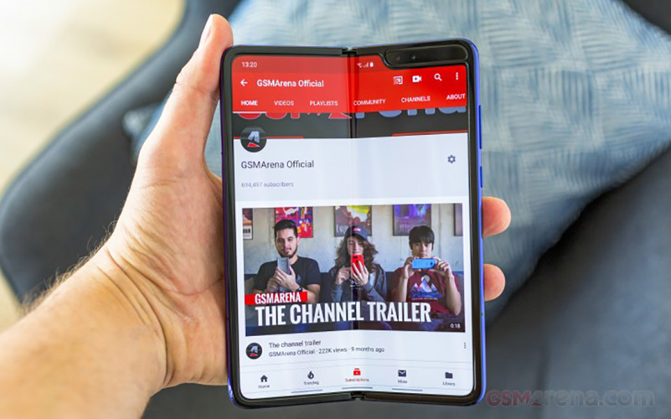 Sforum - Latest technology information page right-len-ke-Galaxy-Fold-1 After all, the super-folding screen of Galaxy Fold will hit the shelves in July.