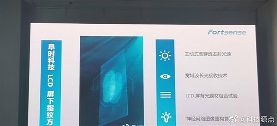 Sforum - The latest technology information page boe-2 BOE will begin mass production of LCD monitors that incorporate optical fingerprint sensors this year.