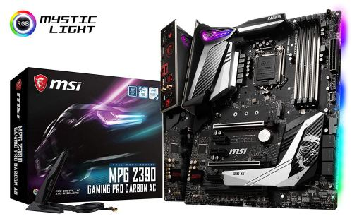 MSI Carbon gaming motherboard