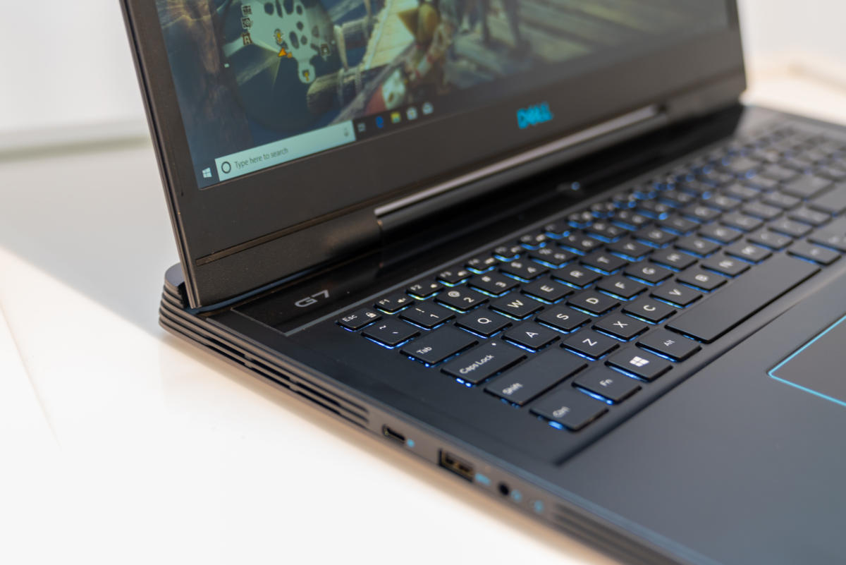 dell g7 15 right side detail