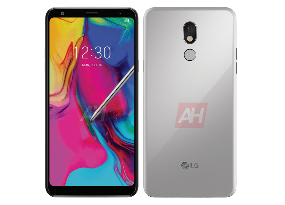 Sforum - Latest technology information page LG-Stylo5-AH-01 Design of cheap LG Stylo 5 smartphone continues to show clearly through the latest render images