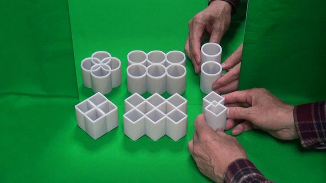 """Dizziness with objects that look simple but can create an optical illusion and a powerful """"induce"""" - Photo 1."""