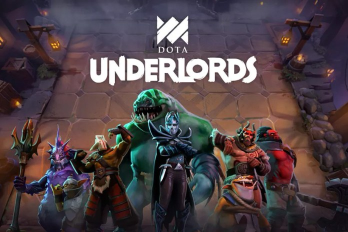 Autochess dota underlords launched