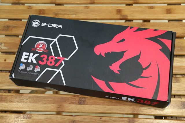 Experience E-Dra EK387 - Delicious mechanical keyboard with the price of only 600k - Photo 1.