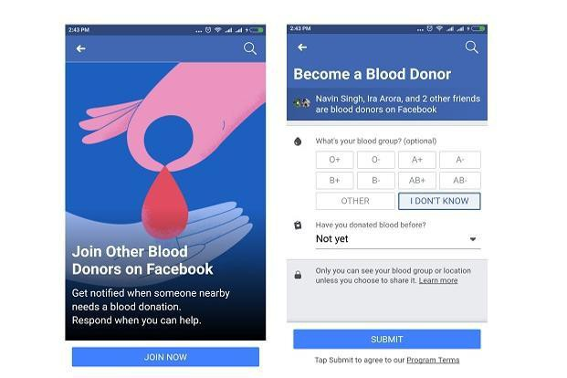 Facebook launched feature voluntary blood donation campaign - Photo 1.