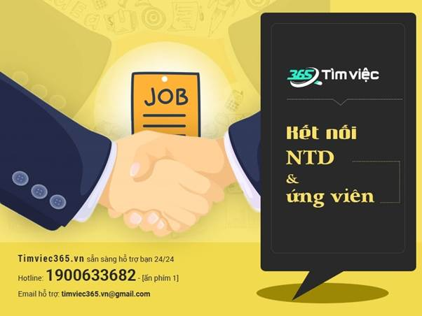Find jobs quickly and prestigious right at Timviec365.vn - VnReview