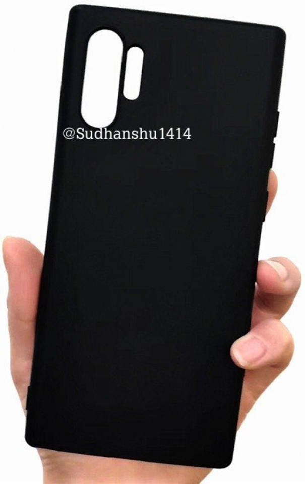 Sforum - Latest technology information Op-lung-Galaxy-Note-10-Pro-1 Covering Galaxy Note 10 Pro implicitly confirms the design of the back of the phone