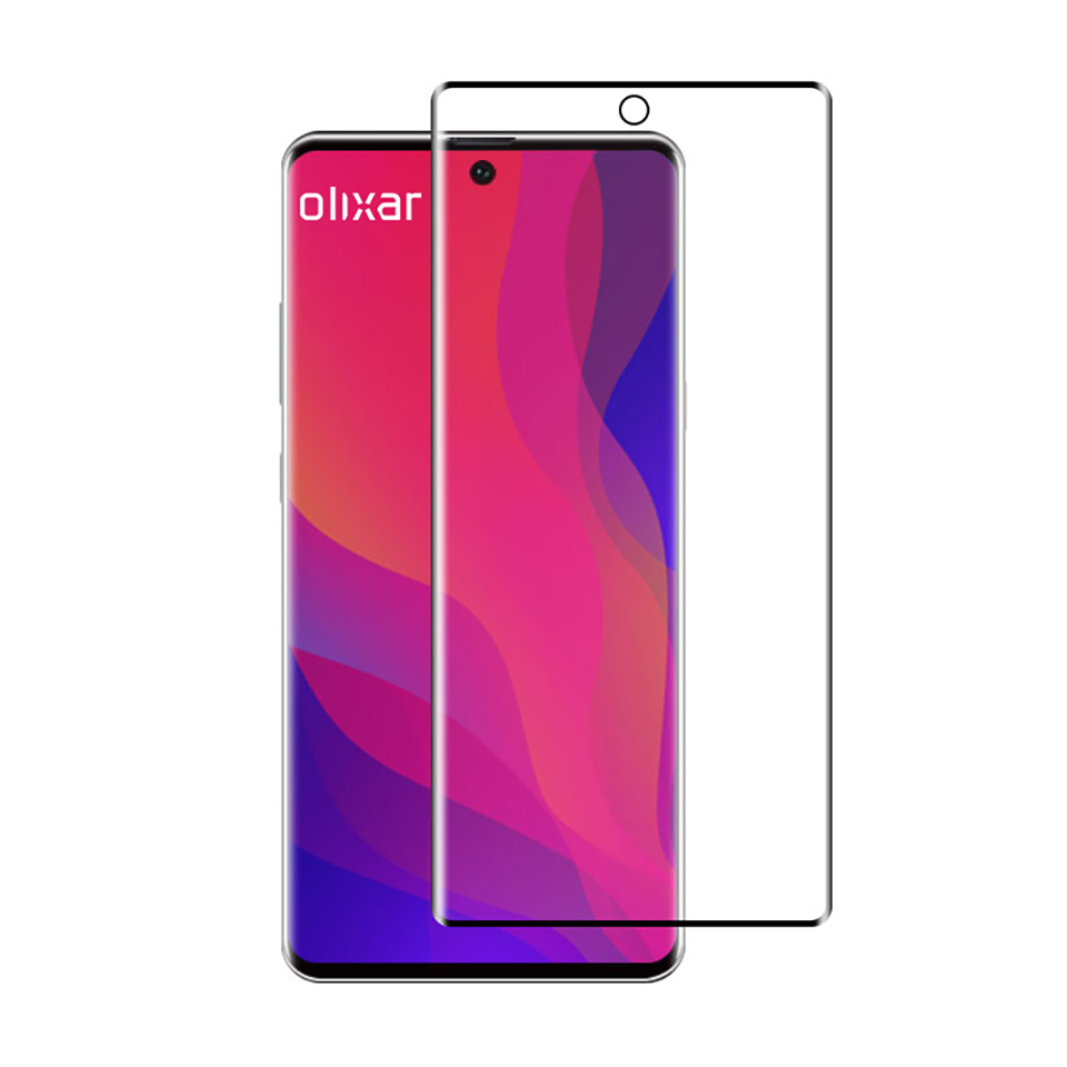 Sforum - Olixar-Samsung-Galaxy latest technology information page-Note-10-Tempered-Glass-Screen-Protector Design Galaxy Note 10 continues to be confirmed by accessories images