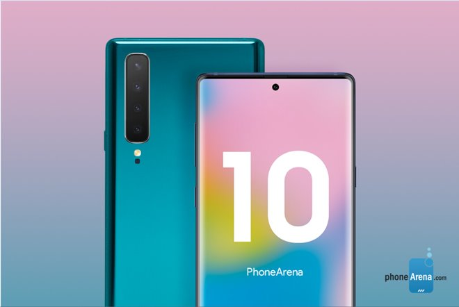 Galaxy Note 10 launches: Samsung Note removes the headphone jack and physical keys
