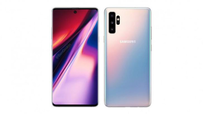 Galaxy Note 10 will have 2 packages, overhauling 1,100 USD? picture 1