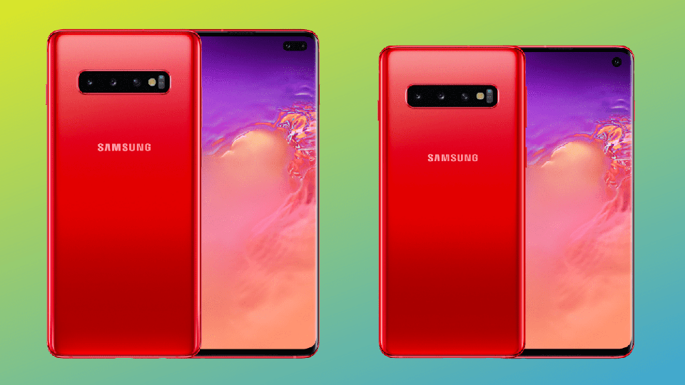 Sforum - The latest technology information page Galaxy-S10-Plus-and-Galaxy-S10-in-Cardinal-Red Galaxy S10 and S10 + adds Cardinal Red red version beautifully, priced from 19.45 million VND