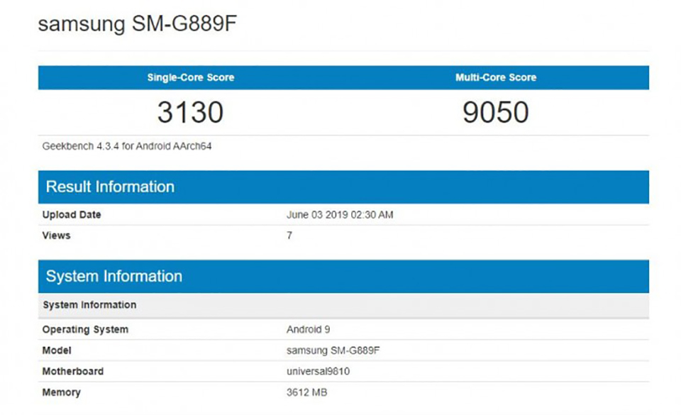 Sforum - Latest technology information page Galaxy-S9-Acitve-1 Galaxy S9 Active has just revealed an impressive benchmark on Geekbench with Exynos 9810 chip, 4GB RAM