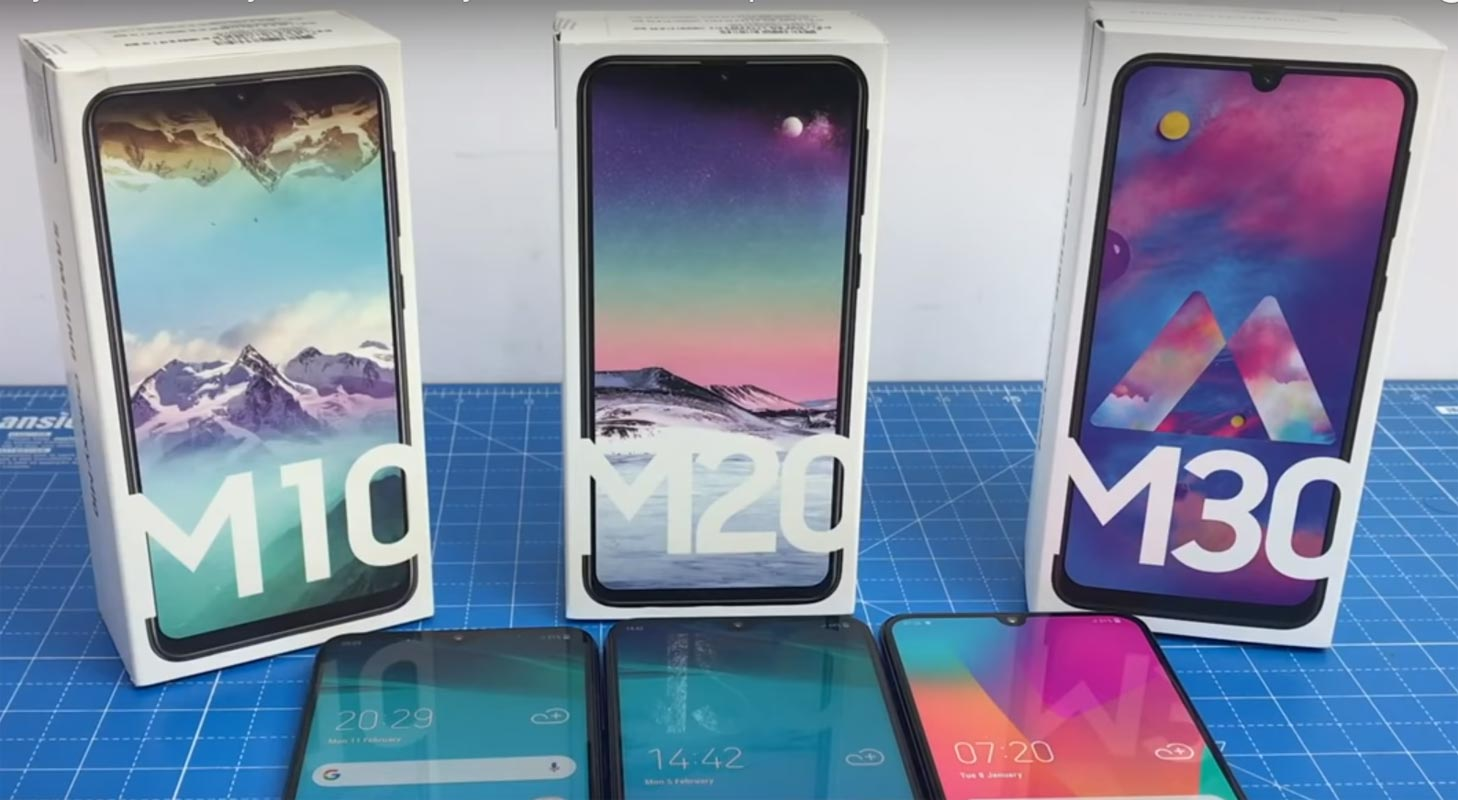 Sforum - Latest technology information page Samsung-Galaxy-M10-M20-M30 Good price, modern design, Samsung has sold more than 2 million Galaxy M10, M20 and M30 in India