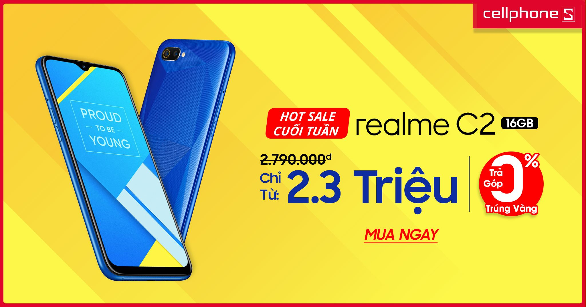 Sforum - Latest technology information page 3-4 [HOT SALE] The dual Realme C2 camera, the water drop screen is now cheaper