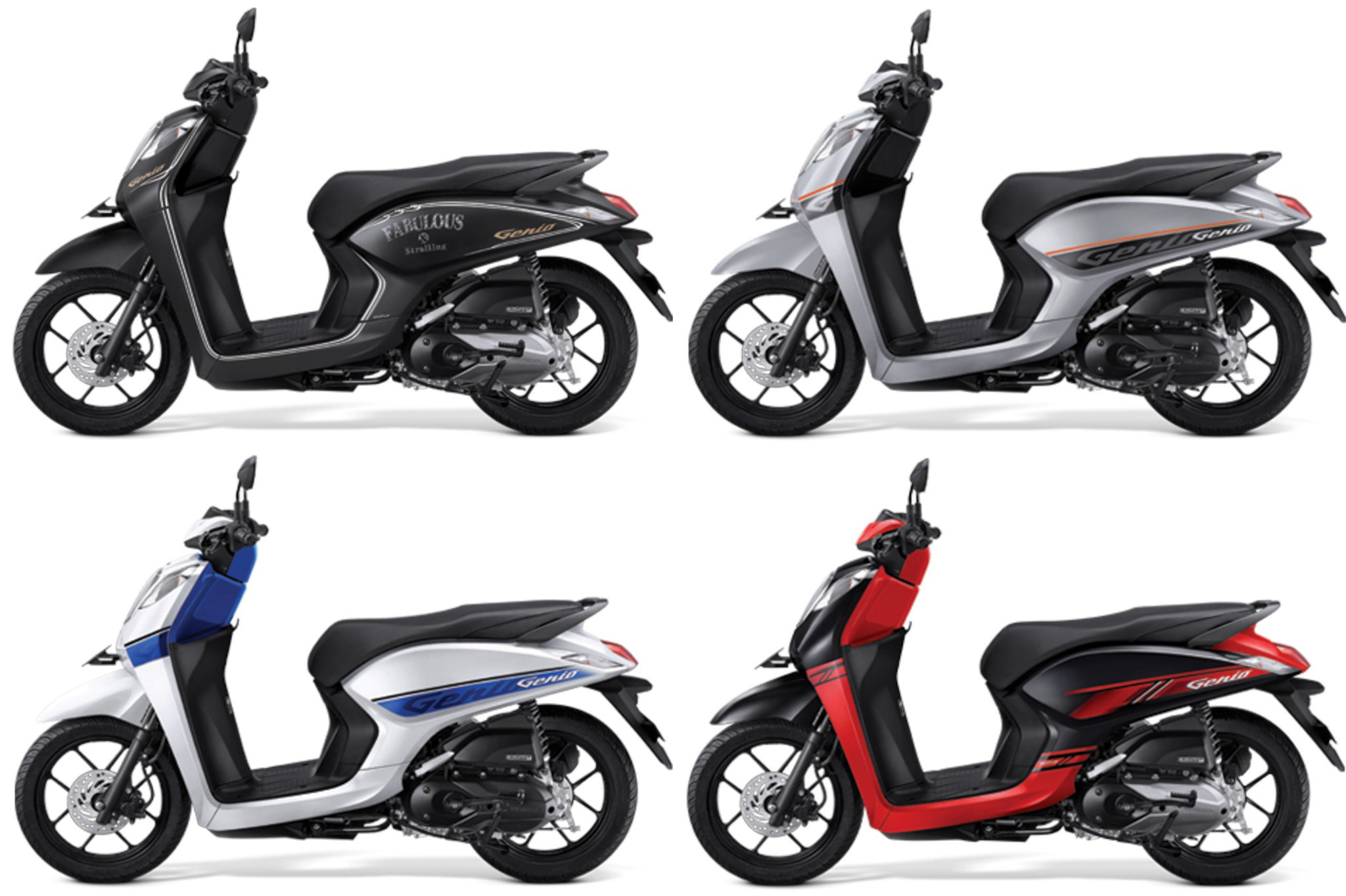 Honda Genio 2019 launched in Indonesia – a very economical