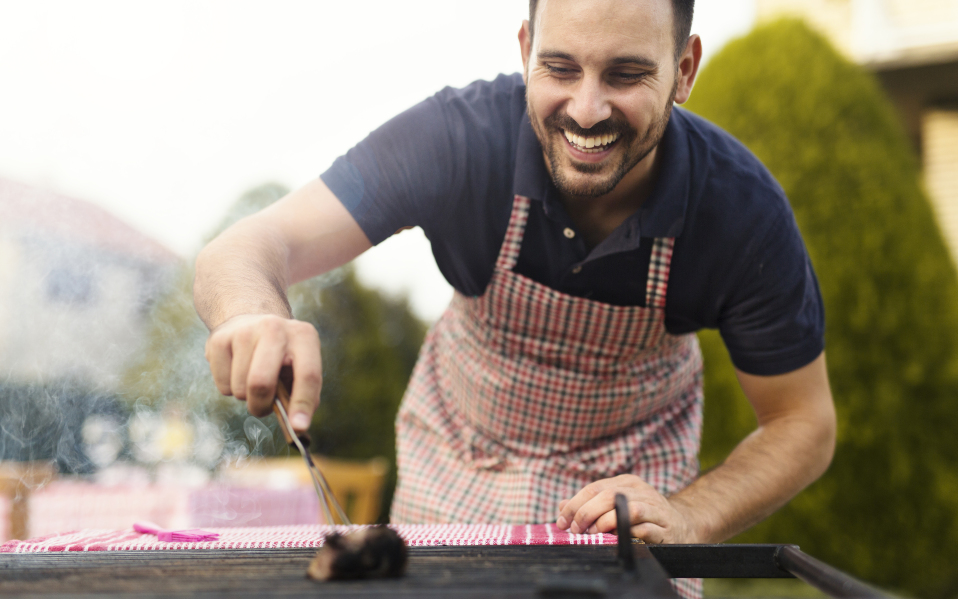 how to clean barbecue grill