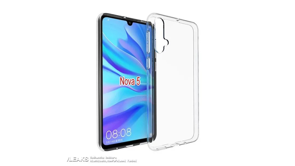 Sforum - Latest technology information page op-lung-Huawei-Nova-5 Huawei Nova 5 and Nova 5 Pro duo design is confirmed by the image of the protective case