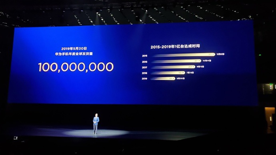 Sforum - The latest technology information page huawei-sales Huawei has shipped more than 100 million smartphones in the first 5 months of 2019