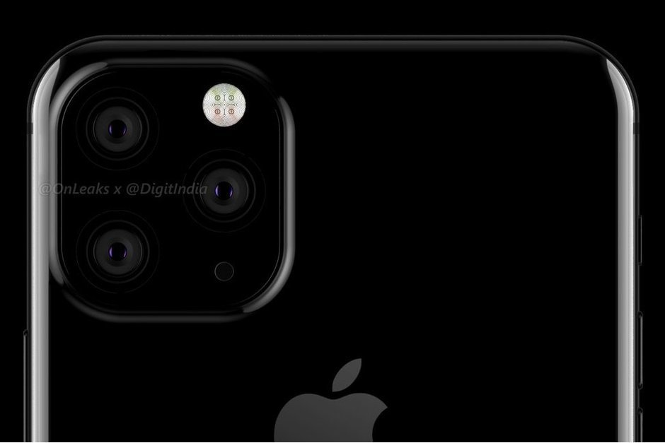 Render shows the big design change expected for the 2019 iPhones; a square camera module in the upper left corner of the phone
