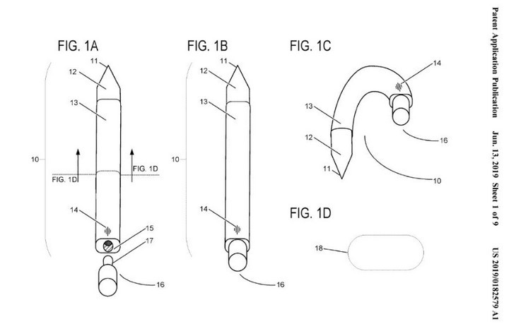 Sforum - Latest technology information page 2019-06-15132923-15605809614931157087600 The upcoming Microsoft Surface Pen pen is capable of bending into wireless headphones