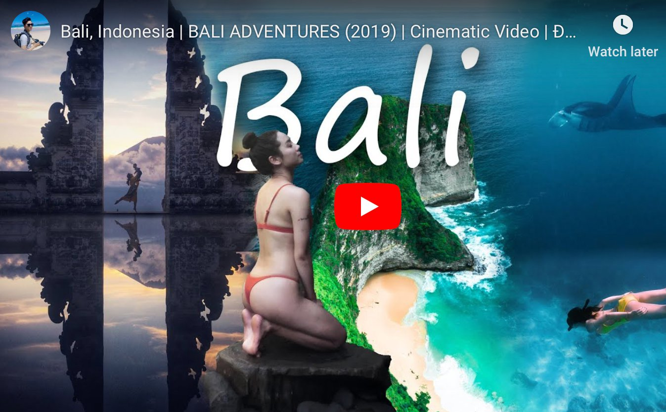 My BALI trip video and share some spinning tips