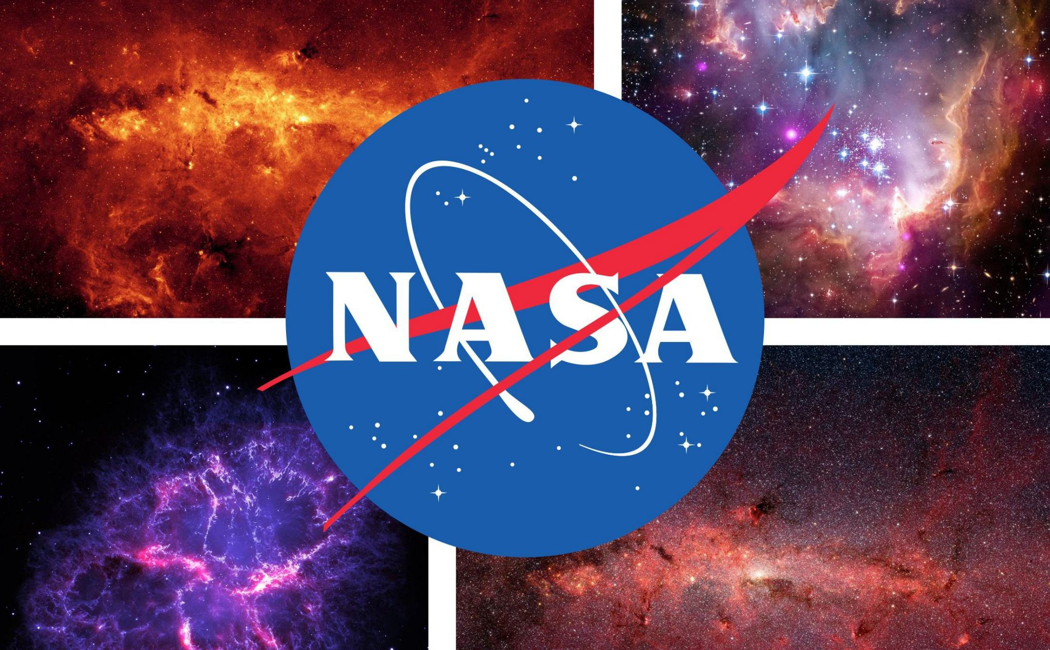 NASA free the entire library of photos, videos and audio, you quickly see