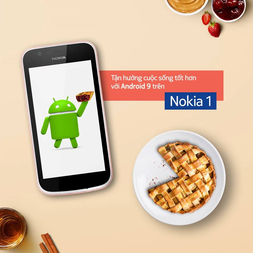 Nokia 1 was officially upgraded to Android 9 Pie operating system