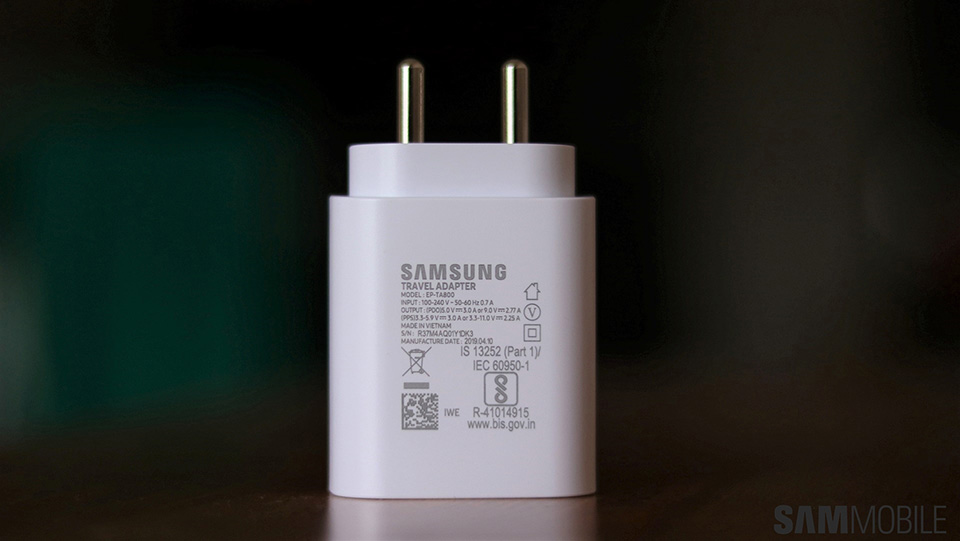 Sforum - Latest technology information page samsung-25w-super-fast-charger-4 Not Note 10, Galaxy A90 is the first Samsung smartphone to support fast charging 45W?