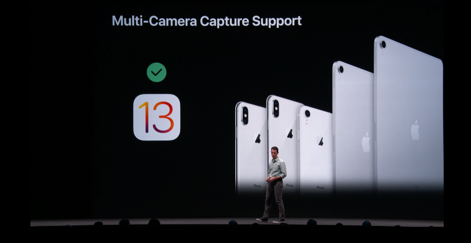 Sforum - Latest technology information page multi-camera-ios-13-1 On iOS 13, iPhone can take pictures at the same time before and after cameras