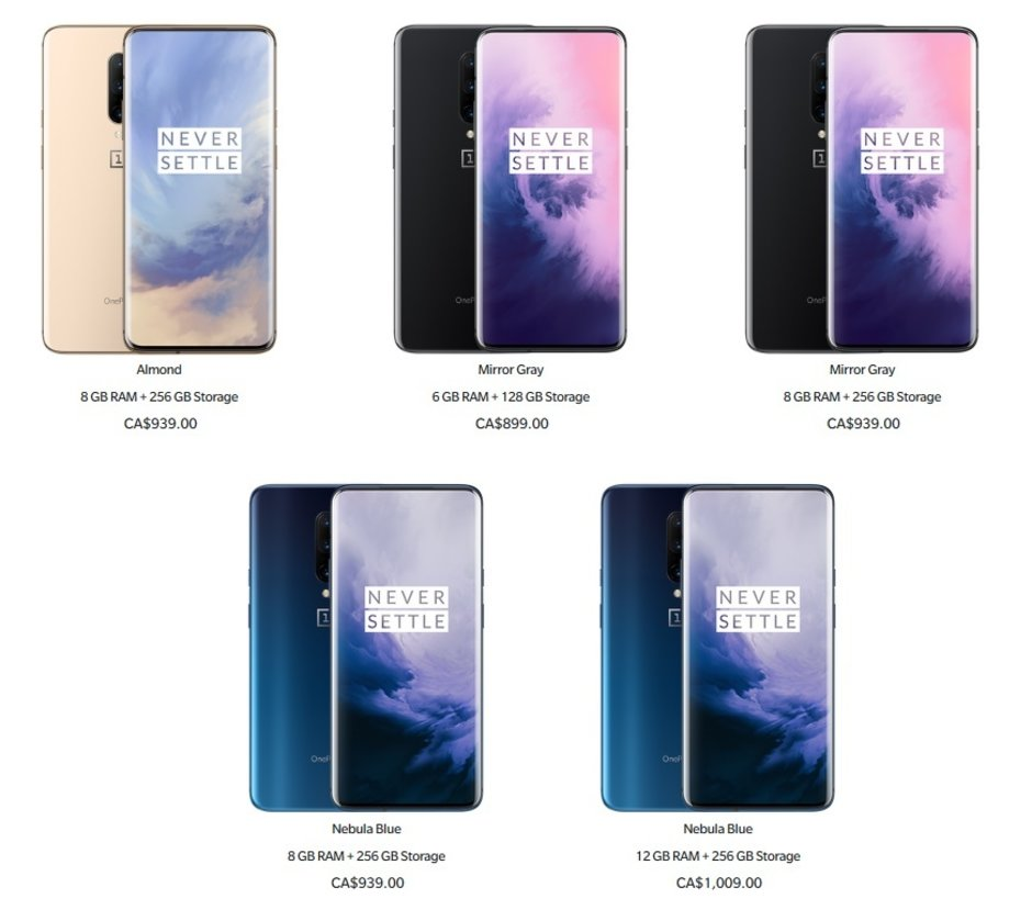 The OnePlus 7 Pro is getting a currency-related price cut in Canada