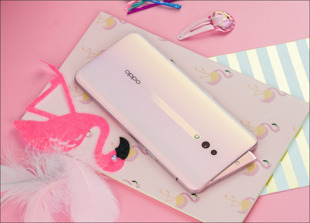 Oppo Reno has a pearl pink version, the price is still 12.99 million