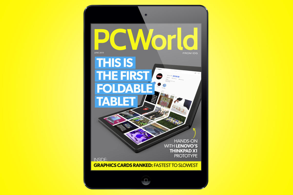 PCWorld's June Digital Magazine: This is the first foldable tablet