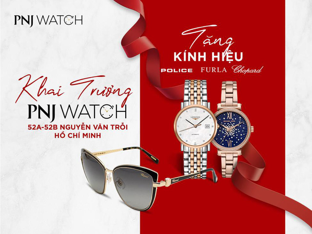 PNJ Watch welcomes the 21st member at Nguyen Van Troi, Ho Chi Minh City - Photo 1.